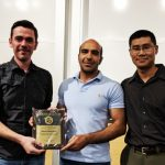 Mehdi awarded TFES graduate student researcher of the year